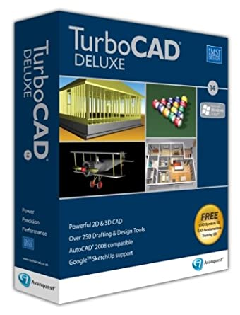 TurboCAD 14 Deluxe 5 User (PC): Amazon co uk: Software