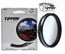 Tiffen 82CGND6 82mm Color Grad ND0.6 2-Stop Filter (Gray)