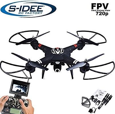 S de Idea® 01660 cuadricóptero S303 FPV 5.8 GHz de transferencia ...