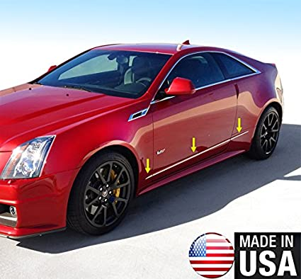 Amazon Com Made In Usa Works With 2011 2015 Cadillac Cts Coupe