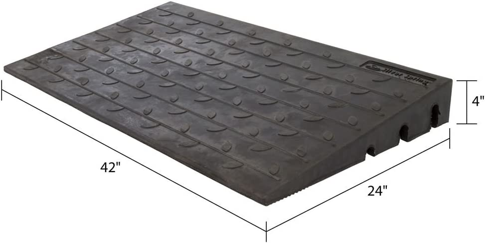 Color : Black, Size : 492713CM Triangle Door Ramps Deceleration Service Ramps Ramps for wheelchairs Bike Kerb Ramps