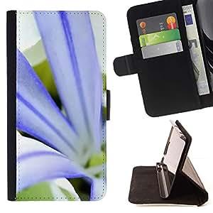 For Samsung Galaxy S4 IV I9500 Case , Planta Naturaleza Forrest Flor 79- la tarjeta de Crédito Slots PU Funda de cuero Monedero caso cubierta de piel