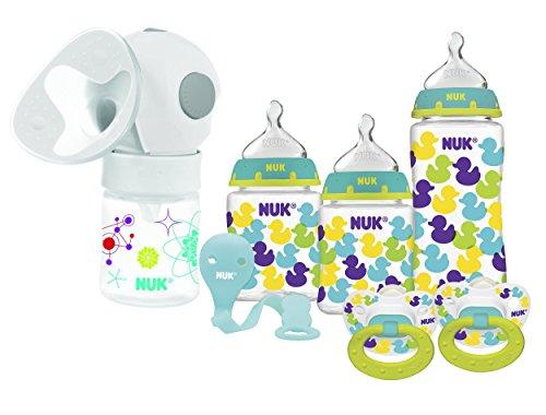 NUK Expressive Single Electric Breast Pump with Bottle Starter Set
