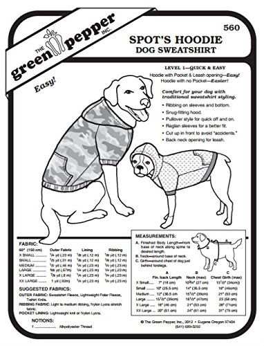Amazoncom Spots Hoodie Dog Sweatshirt Pet Coat 560 Sewing