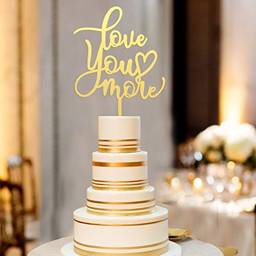 Mr-Mrs-Gold-Wedding-Decoration-Cake-Topper-Love-You-More-Cake-Topper-Unique-Gift-for-Wedding-Engagement-Anniversary