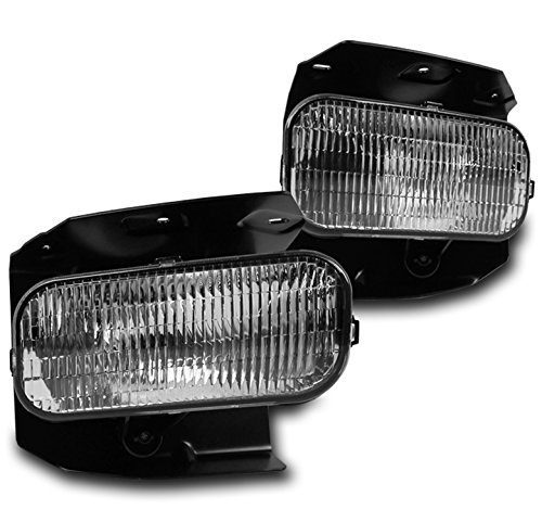 ZMAUTOPARTS Ford F150/F250 Super Duty/EXpedition Bumper Driving Fog Light Chrome