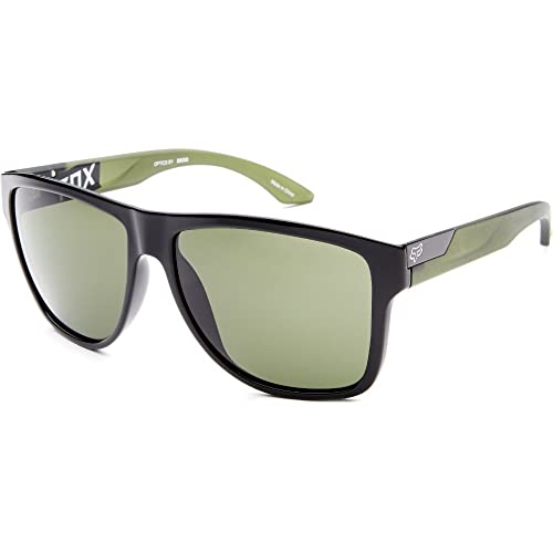66bbdfa30f Fox Racing The Conrad Adult Sunglasses - Polished Black-Matte  Olive Green-Grey