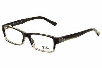 eyeglasses ray ban vista rx 5169 5540 grey horn grad trasp grey