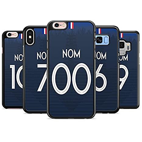coque personnalisable iphone 8 france coupe du monde domicile