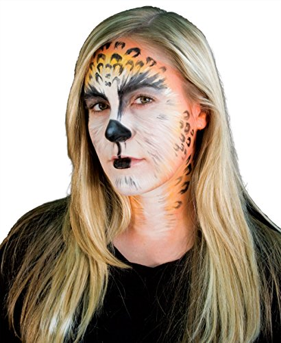 [Woochie by Cinema Secrets Cat Makeup Stack, Multi, One Size] (Cat Halloween Costume Makeup)