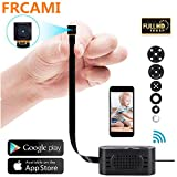 FRCAMI Super Mini Spy Camera Hidden 1080P HD P2P Wireless IP Camera Motion Detection Remote View Home Security Cam