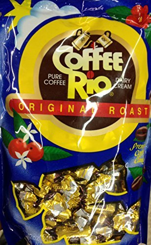 - 12oz Coffee Rio Original Roast Gourmet Candy, Pack of 3