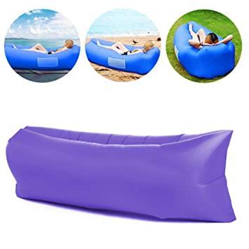 TZTED Sofa Hinchable Sofa Inflable portátil Impermeable ...