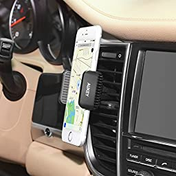 AUKEY Car Mount Air Vent Phone Holder Cradle for iPhone 7, 6, 6S, Samsung and other Android, Windows Smartphones