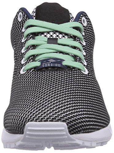 adidas Zx Flux Weave - Zapatillas Unisex adulto Ftwr White/Core Black/Dark Blue