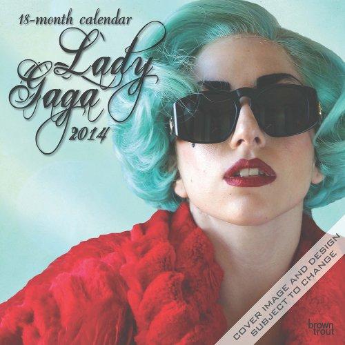 Lady Gaga 2014 Calendar Bravado