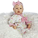 Paradise Galleries Real Great to Reborn Baby Doll, Baby Layla, Girl Doll Crafted in Silicone-Like Vinyl and Weighted Body, 21 inch