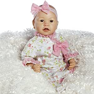 Amazon Com Paradise Galleries Real Life Baby Doll Baby