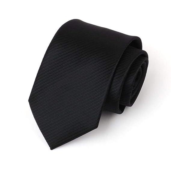 Corbata De Hombre, Vestido De Traje, Novio Casado, Negro, Corbata ...