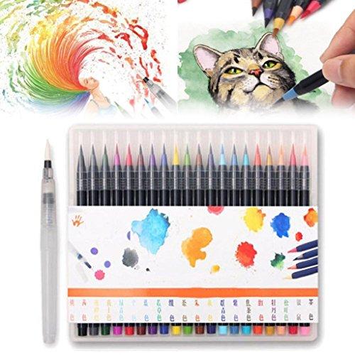 10 Children's watercolor pen - 2