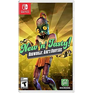 Oddworld: New 'N' Tasty (NSW) - Nintendo Switch