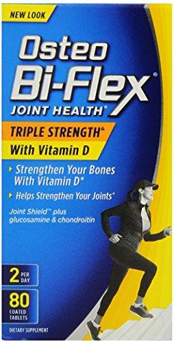 Osteo Bi-Flex Force Triple avec vitamine D3 2000 UI, 80 comte