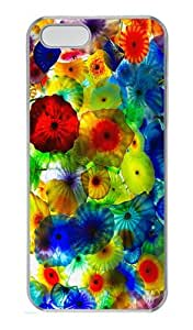 Colorful Vegas Custom PC Hard Plastic Case for iPhone 5/5S Transparent