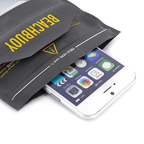 PROPORTA® BeachBuoy 100% Wasserdichte, IP58 Geprüfte Samsung Galaxy S7 Hülle, Spritzfeste, Staubdichte Tasche mit Touch Fenster und Trageschlaufe
