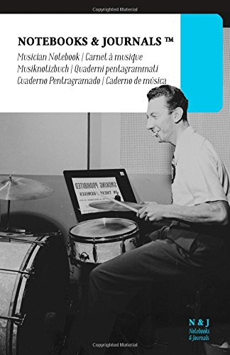 Download Musician Notebooks & Journals, Feld (Jazz Notes Collection) Large: Soft Cover (5.5 x 8.5)(Blank Sheet Music, Music Manuscript Paper, Staff Paper) pdf epub