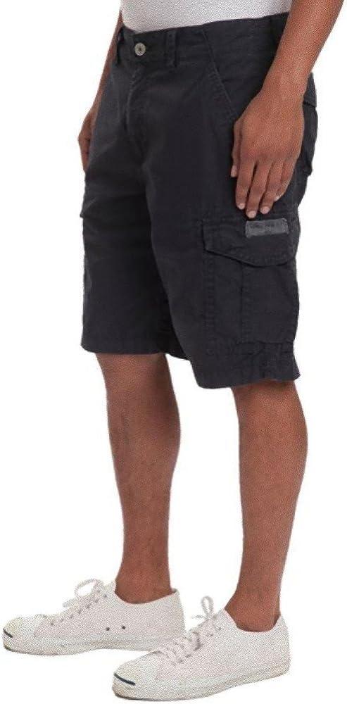 Unionbay Mens Lightweight Cotton Twill Navy Six Pocket Detailing Cargo Short 42