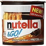Ferrero Nutella and Go Hazelnut Spread with Pretzel Sticks, 1.9 oz. each, (Pack of 12)
