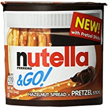 Nutella and Go Pretzel, 1.9 oz each, (Pack of 12)
