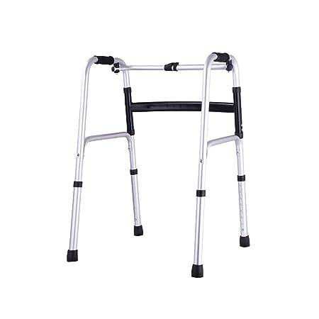 Anciano Walker Walker Andador de Aluminio Altura Ajustable ...