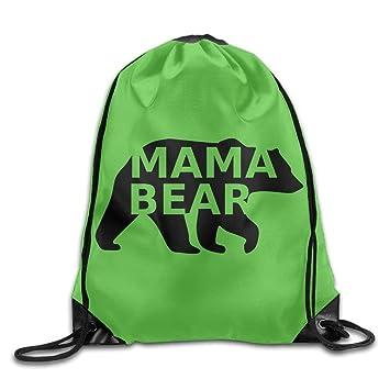 uykjuykj Bolsos De Gimnasio,Mochilas,Mama Bear Fashion Beam ...