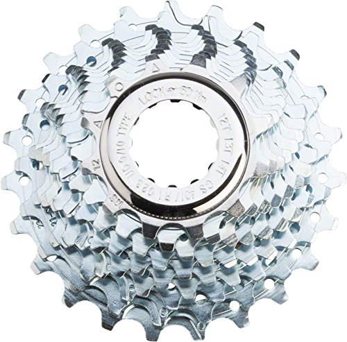 Campagnolo Veloce Ultra-Drive 10-Speed 11-25 Cassette - Includes Lockring (Campagnolo Steel Lock)