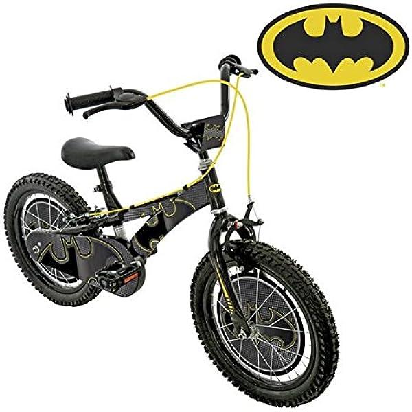 Batman Bicicleta para niños de 16 Pulgadas: Amazon.es: Deportes y aire libre