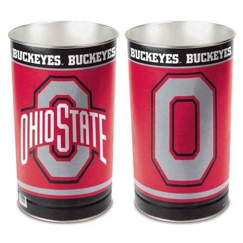 Ohio State Buckeyes 15'' Waste Basket - Ohio State Buckeyes Wastebasket Shopping Results