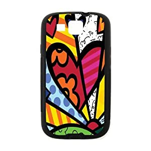 Canting_Good Romero Britto colorful art Case Cover Shell Custom for Samsung Galaxy S3 by mcsharks