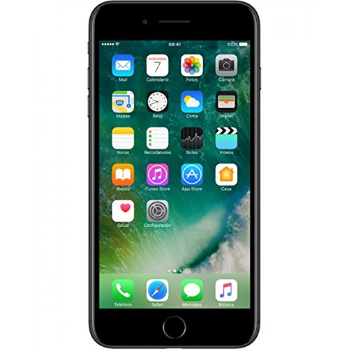 Apple iPhone 7 plus 256 GB, negro