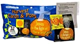 Scripture Candy Harvest Cards and Pops Bag, 10 oz.