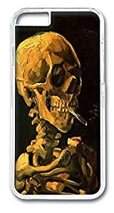 ACESR Cigarette Skeleton Top iPhone Case PC Hard Case Back Cover for Apple iPhone 6 4.7inch