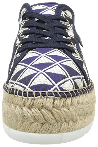 Unisex Basket Plataforma – 30 Blu Sneaker Geometrico Marino Bleu Victoria Yute Adulto xXSdOaawn