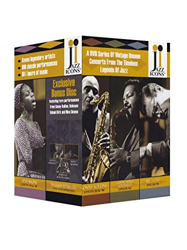 Jazz Icons: Series 3 (Eight-Disc Boxed Set) by Jazz Icons