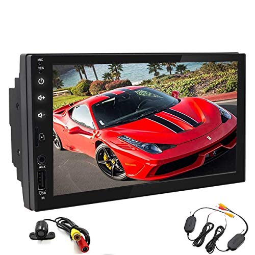 7 Inch Android 8.1 Oreo Car Stereo 2 Din In Dash GPS Navigation Bluetooth Radio Audio System Support USB SD Cam-in OBD2 WiFi AUX Wireless Backup Camera