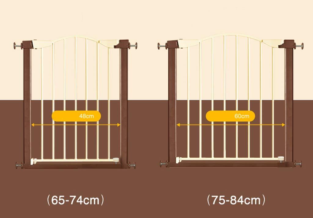 Zhao Baby-Zaun-Treppenhaus-Schutzzaun-Haustier-Hundezaun-Pole-Antifall Säuglings-Kindersicherheits-Tor, Baby-Zaun-Treppenhaus-Schutzzaun-Haustier-Hundezaun-Pole-Antifall Zhao Isolierungs-Tür 65-84CM da86d2