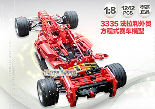 Amazon.com: Decool 3335 Fórmula Series Transporte 1: 8 ...
