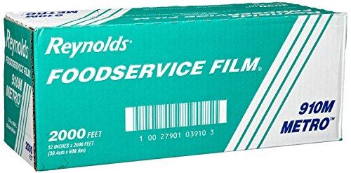 (Reynold 910M, Metro Line PVC Food Wrap Film)