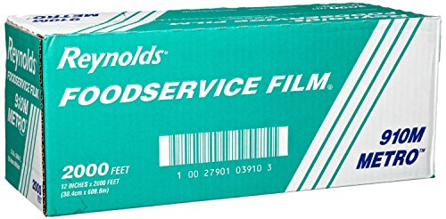 Reynolds Food Storage (Reynold 910M, Metro Line PVC Food Wrap Film)