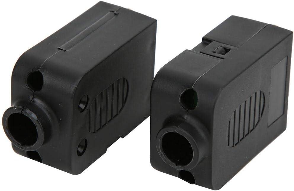 Conector de Conexi/ón DB9 2 Piezas Conector Serial de Tornillo DB9 de 9 Pines al Terminal de Cableado Adaptador Hembra-macho con Estuche