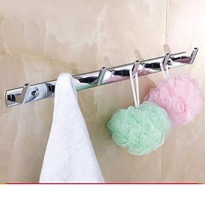 hook/Black coat hooks/ cloak-gig/Linked to the wall behind the door/Bathroom towel hook-H good